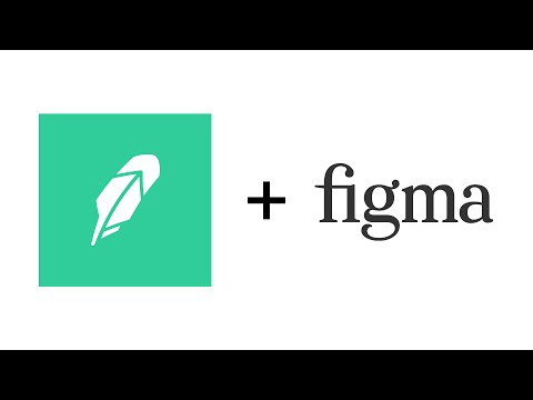 Robinhood Logo Recreated Using Figma