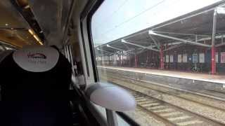 Leaving Rugby On A Virgin Trains Class 390 Pendolino (30/3/15)
