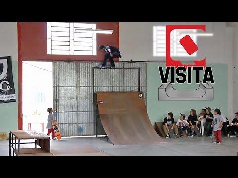 QIX Visita - Caique e Luiz Neto na Skate House em Tubarão - SC