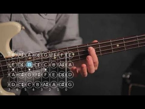 Basic Note Patterns Bass Guitar - YouTube