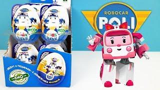 РОБОКАР ПОЛИ KIDS BOX! Сюрпризы, ИГРУШКИ, мультики про машинки Robocar Poli Surprise unboxing