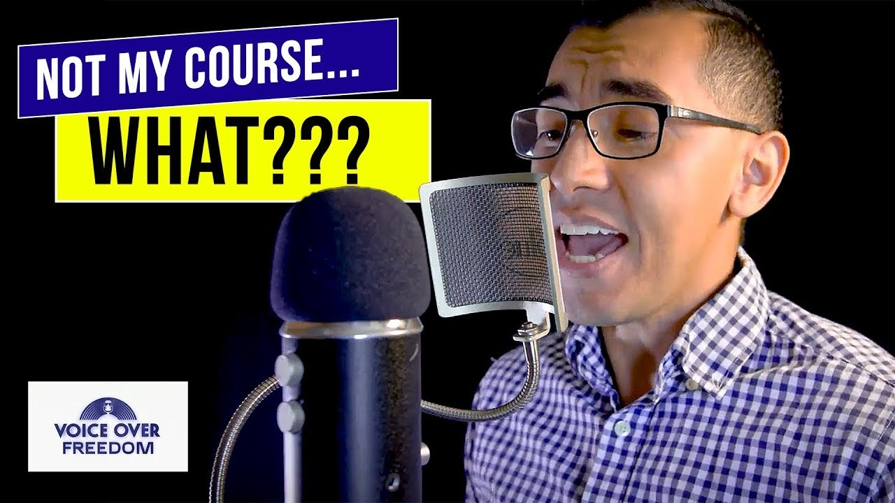 New VOICE OVER Course - Not Mine! TEACH Your Voice to be Better!