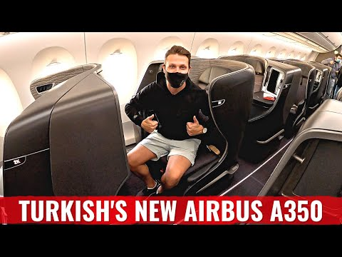 FIRST REVIEW ON YOUTUBE: TURKISH AIRLINES STUNNING NEW A350!
