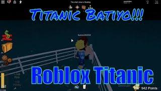 😱 Titanic Batıyo!!! 😱| Roblox Titanic | Roblox Türkçe