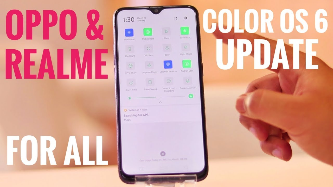 Oppo & Realme Color Os 6 Update