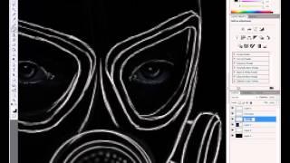 Как рисовать сталкера в фотошопе (урок)(Это видео создано с помощью видеоредактора YouTube (http://www.youtube.com/editor), 2014-10-04T18:08:37.000Z)
