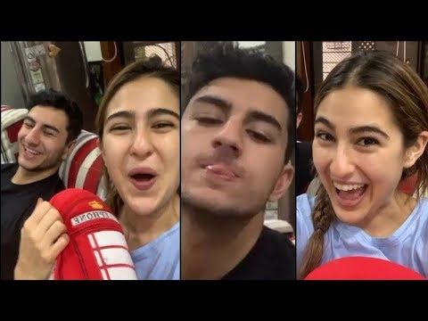 Sara Ali Khan's Funny Act with brother Ibrahim on the occasion of Bhai Duj Mp3