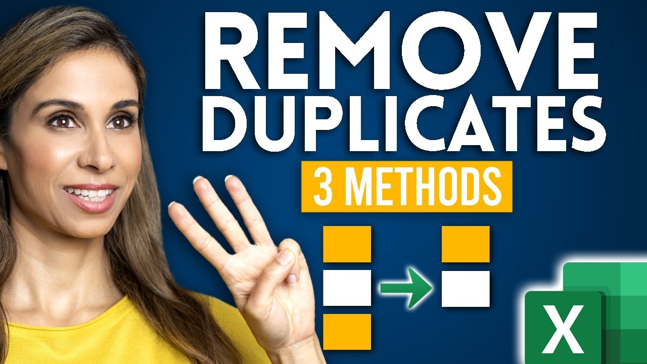 3 EASY Ways to Find and Remove Duplicates in Excel