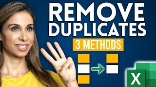 3 EASY Ways t๐ Find and Remove Duplicates in Excel