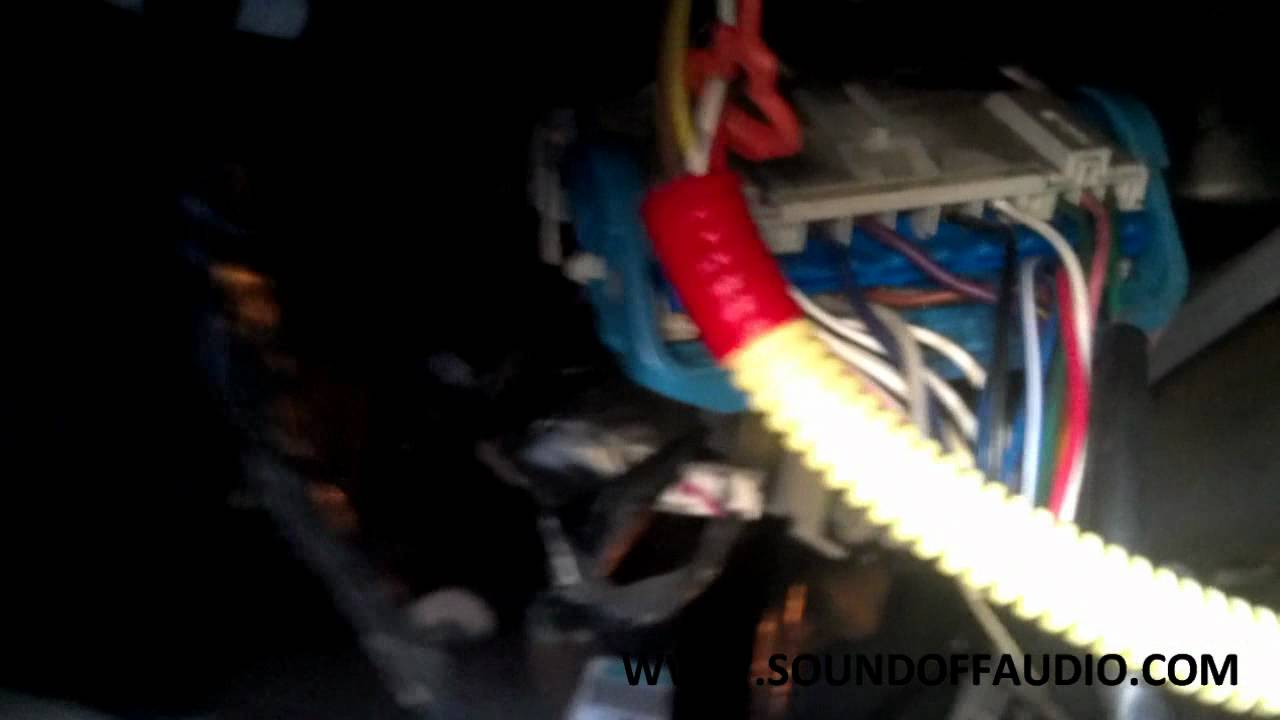 chevy colorado or gmc canyon stereo ignition hookup youtube chevy colorado or gmc canyon stereo ignition hookup