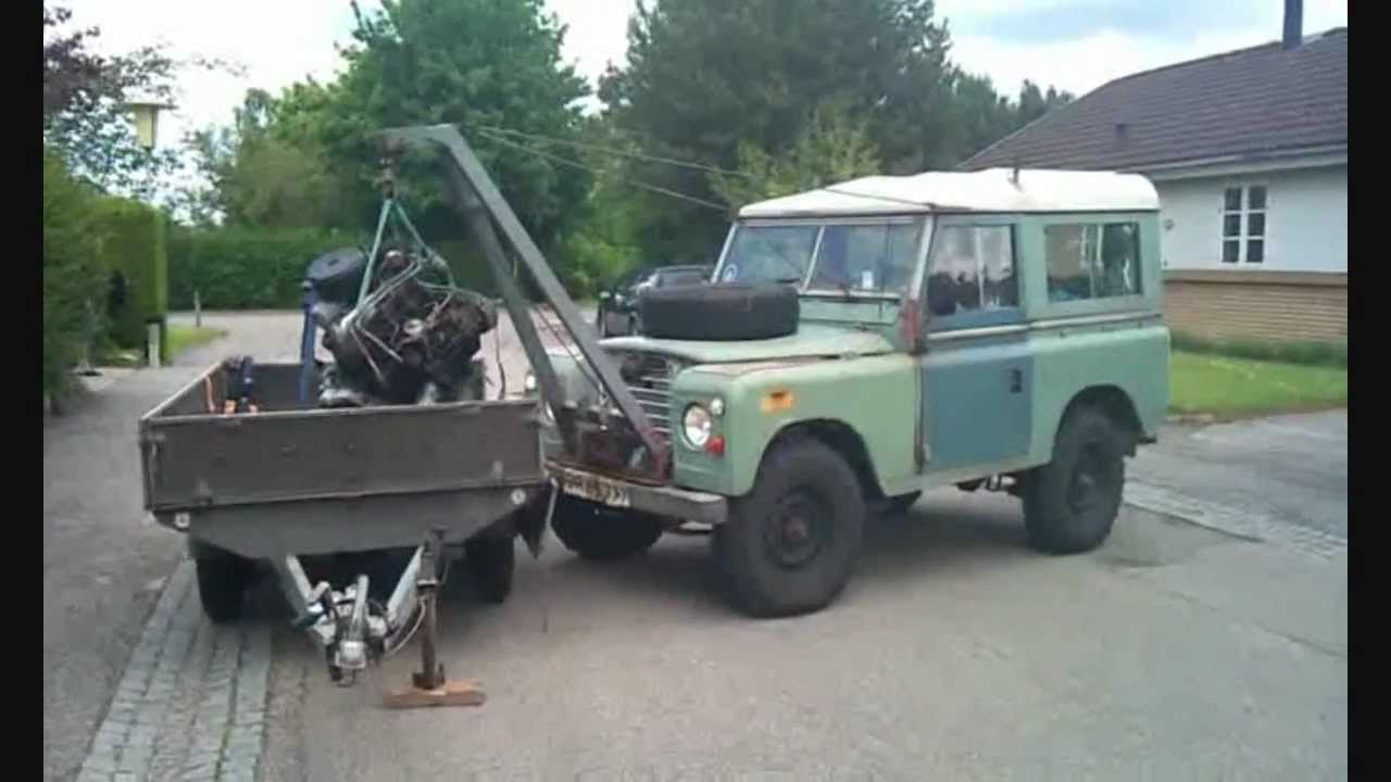 The Series Iii Crane Land Rover Part 1 Youtube