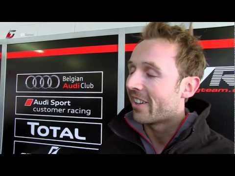 FIA GT - France - Rene Rast Post Qualifying Report - Nogaro