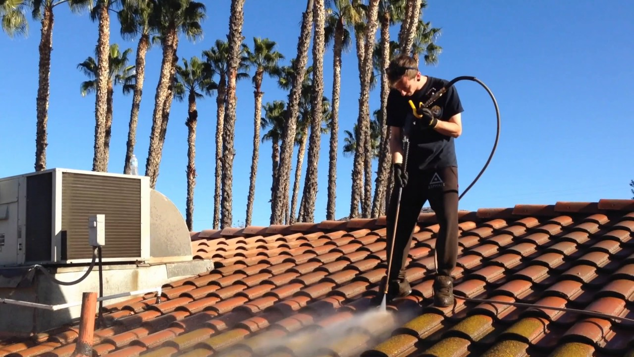 Riverside County Roof Cleaning Services | Jetstream Power Wash   Green Moss  Removal (HD 2017)