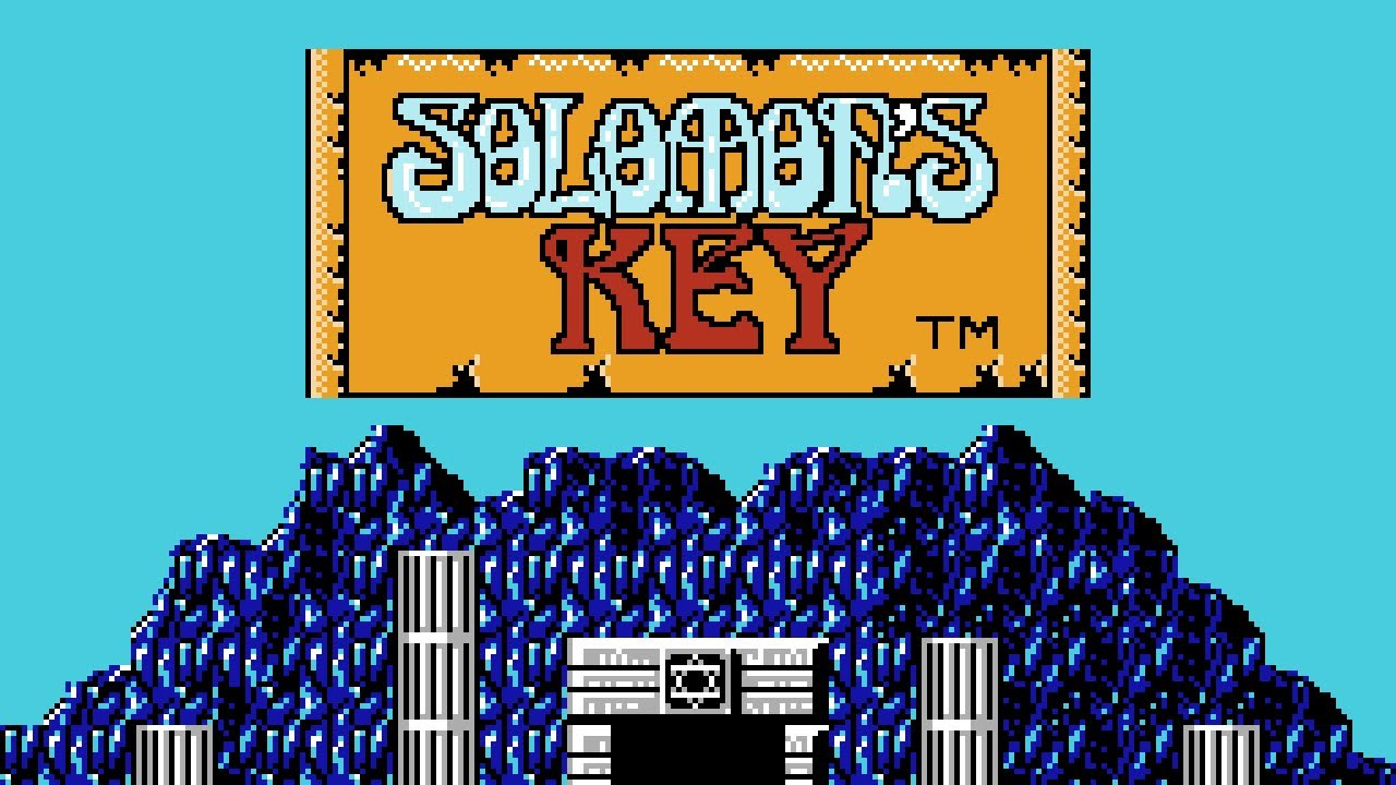 987a9f98d31d Solomon s Key - NES Gameplay - YouTube