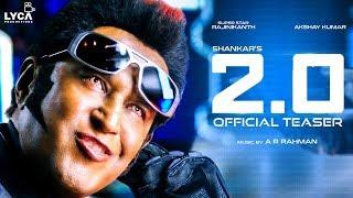 2.0 - Official Teaser Reaction [Tamil] | Rajinikanth | AR Rahman | Shankar | Lyca Productions TT 116