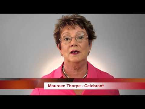 Maureen Thorpe - Wedding Celebrant