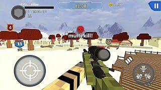 Cube Wars Battle Survival   Sniper Defense   GamePlay FHD screenshot 5