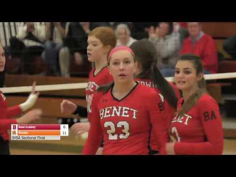 IHSA Volleyball; Minooka vs. Benet Academy; 11/1/2017