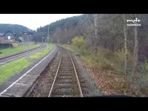 Unterwegs mit der Süd Thüringen Bahn