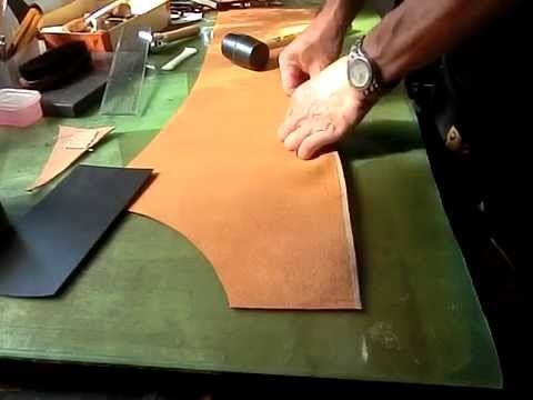 Making Leather Chaps