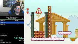(38:08) Super Mario All-Stars: all four any% speedrun