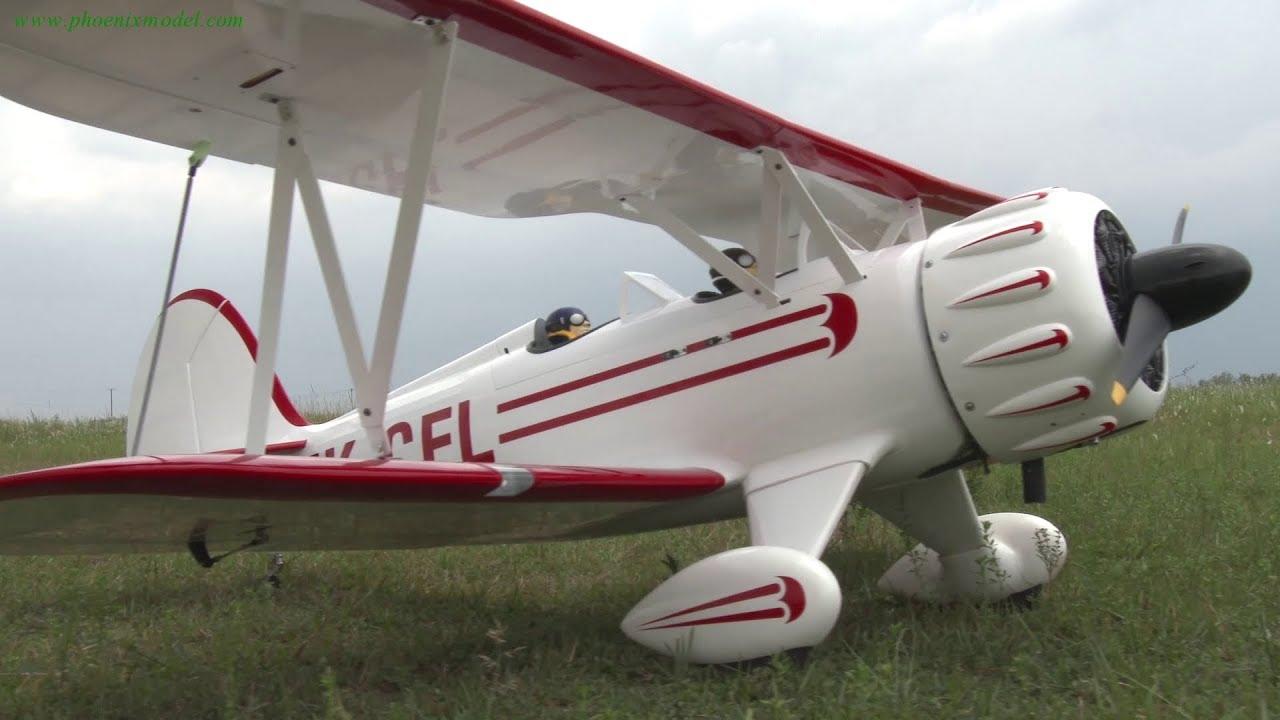 Phoenix Model Waco 50-61cc Gas/EP ARF 90 5