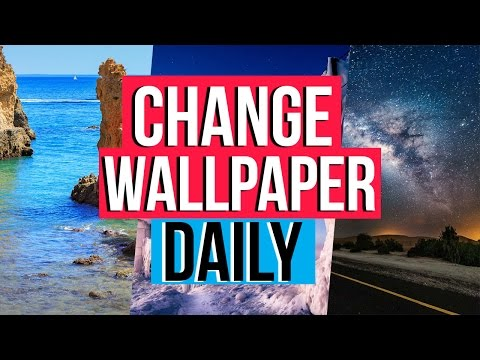 How To Change Your Wallpaper DAILY! | Dynamic Theme Windows 10 | Harrison Broadbent