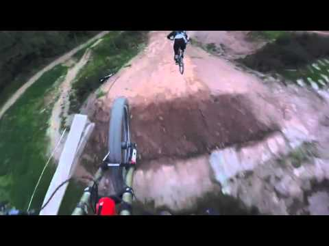 The Worlds Biggest Dirt Jump Line With Vink Nico And Brendan