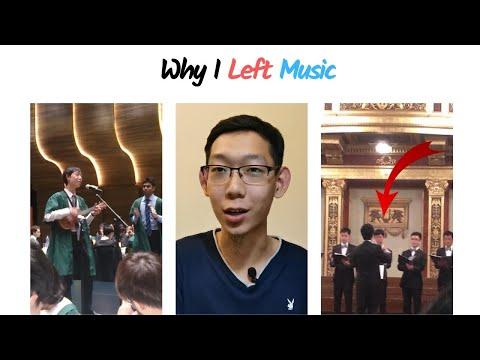 Why I Left Music