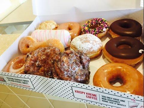 Krispy Kreme 4th of July Challenge | ErikTheElectric