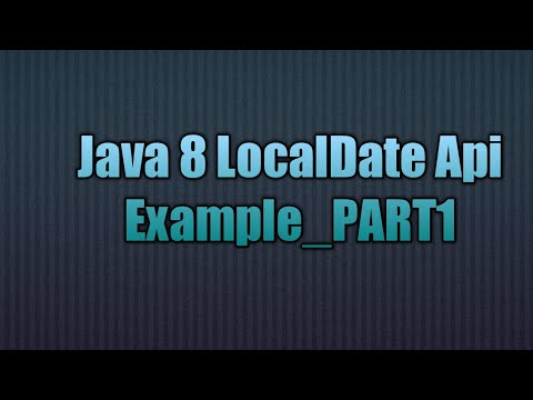 Java 8 get localdate from string