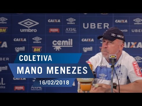 16/02/18 - Coletiva: Mano Menezes