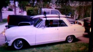 Armenian 1964 Chevrolet Nova II - Brief Historical Timeline (aka before-and-after)