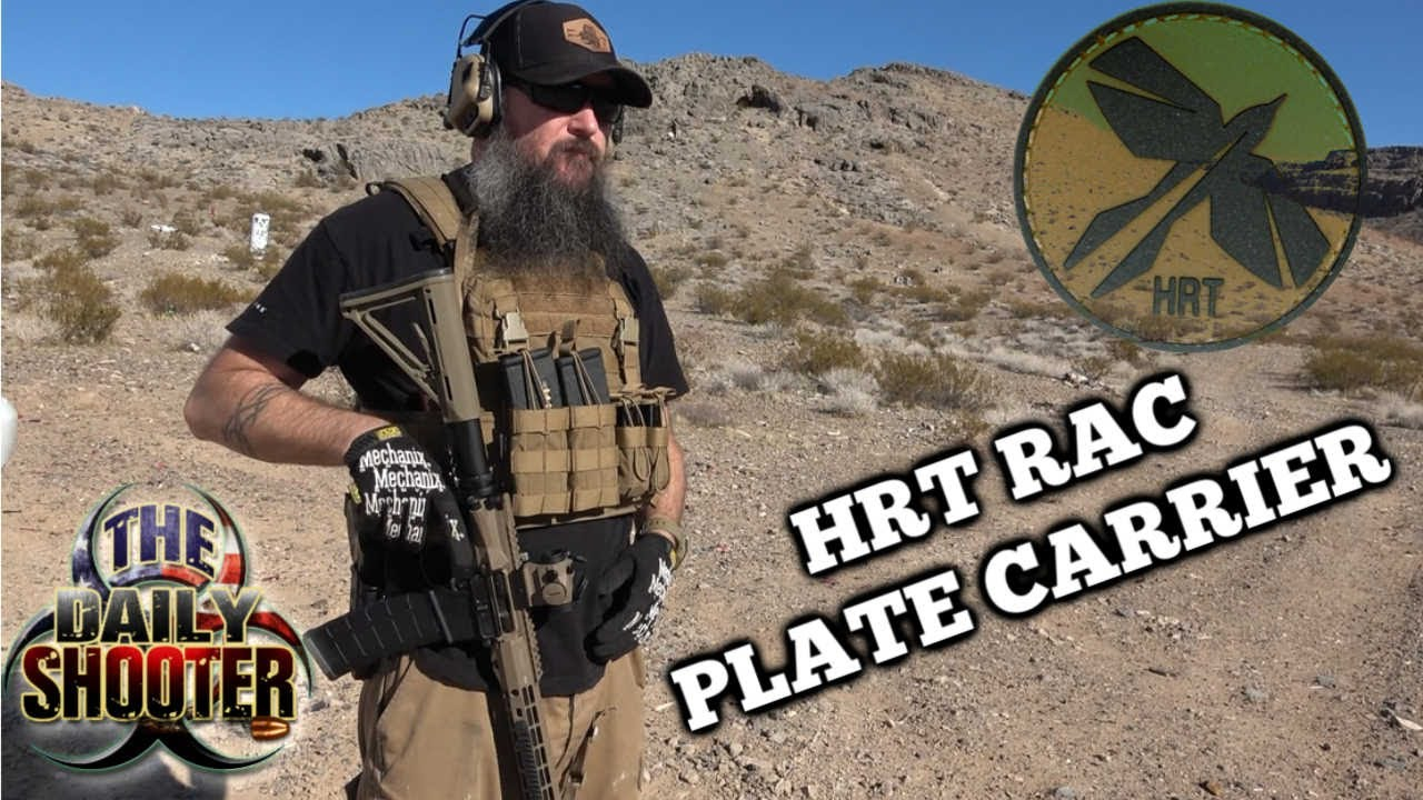 HRT RAC Plate Carrier, Warrior Poet Pouch and Placards