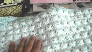 Crafting update...crochet baby blanket