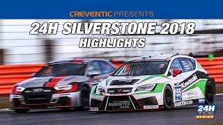 Highlights Hankook 24H SILVERSTONE 2018 TCE SERIES
