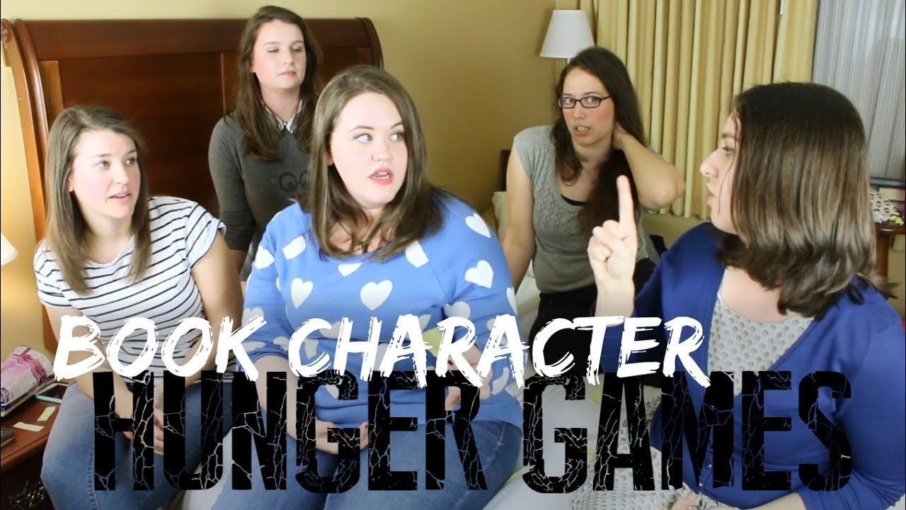 hunger games book characters