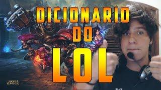 DICIONARIO DO LOL - para iniciantes