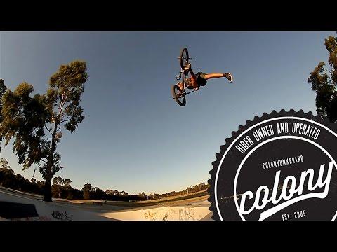 Colony BMX - Luke Parker - Local Lines