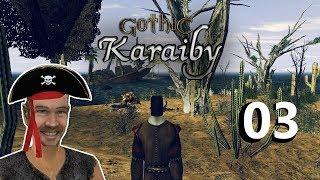 3#GOTHIC II NK - KARAIBY - NAJEMNY CWANIAK!