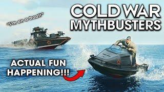 Black Ops Cold Wąr Mythbusters - Vol. Fun!