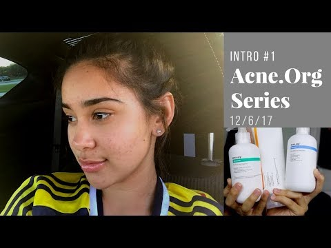 STARTING ACNE.ORG | PRODUCT INFORMATION