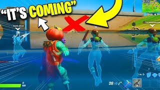 I made my squad think a SECRET EVENT is happening (Fortnite)