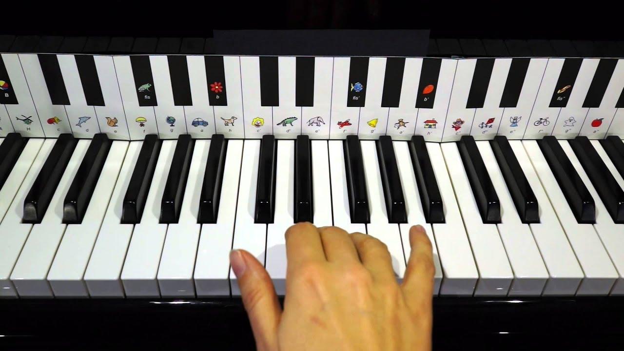 klavier lernen h nschen klein youtube. Black Bedroom Furniture Sets. Home Design Ideas