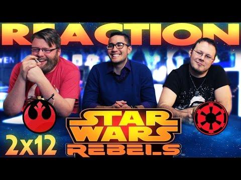 "Star Wars Rebels 2x12 REACTION!! ""Legends of the Lasat"""
