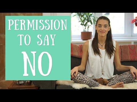 Power Tap: Permission to Say No
