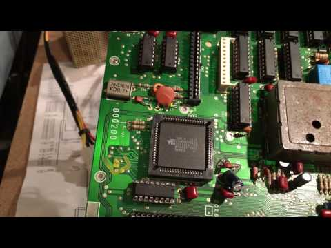 #6 TRS-80 Color Computer 3 Motherboard Review / Teardown