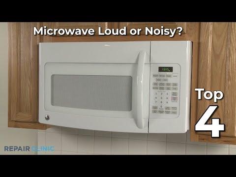 whirlpool microwave microwave is loud