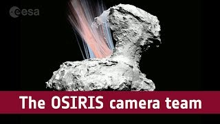 Interview with Rosetta's camera team