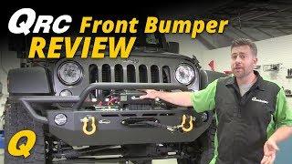 Quadratec QRC Front Bumper for Jeep Wrangler JK